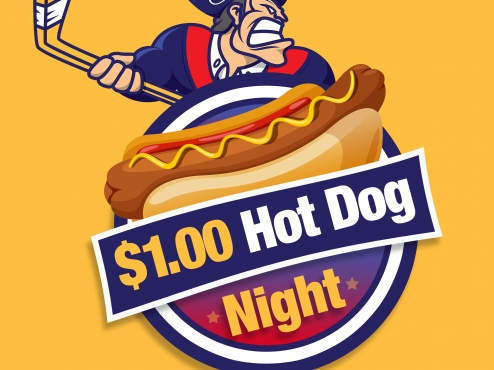 Rebels Announce $1 Hot Dog Nights