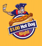 Rebels $1 Hot Dog Night